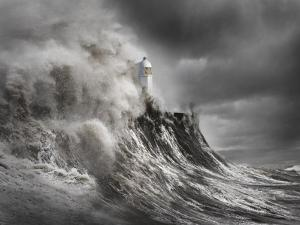 Drama at the Lighthouse by Aleks Gjika