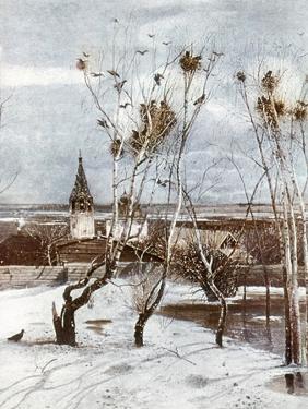 Savrasov: Ravens, 1871 by Aleksei Kondratevich Savrasov