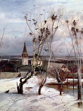 The Rooks Have Returned, 1871 by Aleksei Kondratevich Savrasov