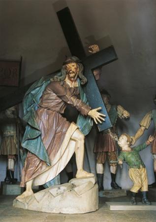 Christ Bearing Cross, 1800-1805