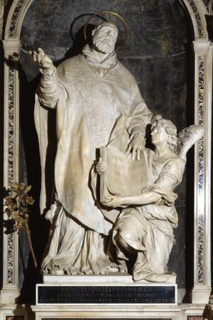 Saint Philip Neri with an Angel