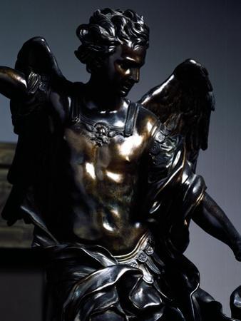 St Michael Archangel Overcoming Demon
