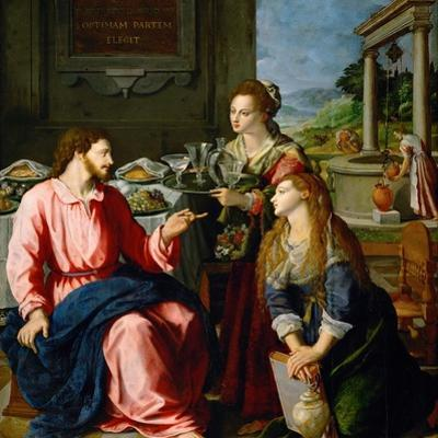 Christ in the House of Martha and Mary, 1605
