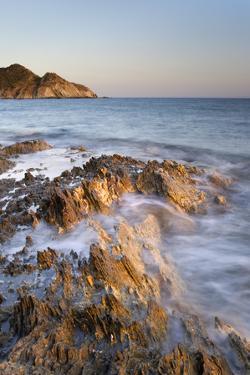 Italy, Sardinia, Cliffs of Southern Sardinia by Alessandro Carboni