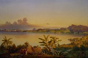 Rio de Janeiro, 1844 by Alessandro Ciccarelli