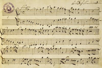 Sheet Music of Six Symphonies