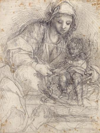 The Madonna and Child with a Carthusian Monk