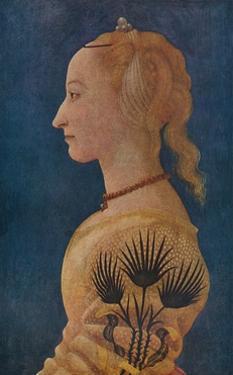 'Portrait of a Lady', c1465 by Alesso Baldovinetti