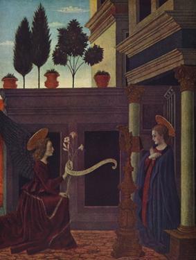 'The Annunciation', c1449-1454 by Alesso Baldovinetti