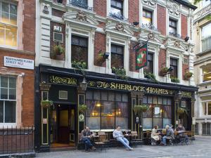 Sherlock Holmes, Pub, London, England by Alex Bartel