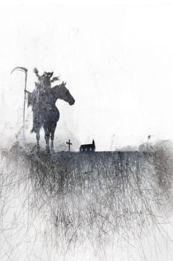 Death rides a horse by Alex Cherry