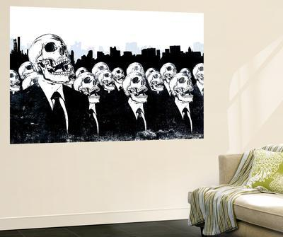 We Live no more by Alex Cherry & Urban Art Wall Murals Posters for sale at AllPosters.com