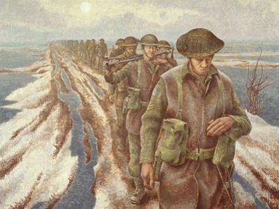 Infantry Near Nijmegen, C.1940