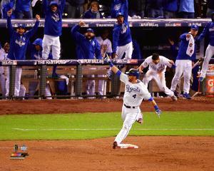 Alex Gordon Home Run Game 1 of the 2015 World Series