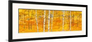 Iridescent Trees II by Alex Jawdokimov