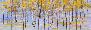 Iridescent Trees III by Alex Jawdokimov