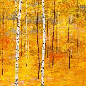 Iridescent Trees V by Alex Jawdokimov