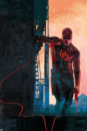 Daredevil #11 Variant Cover Art Featuring Daredevil by Alex Maleev