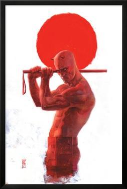 Daredevil: End of Days #8 Cover: Daredevil by Alex Maleev