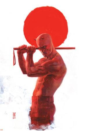 Daredevil: End of Days #8 Cover: Daredevil