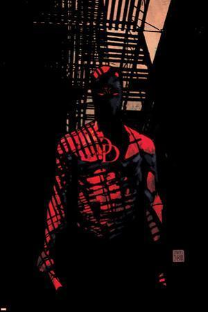 Daredevil No.60 Cover: Daredevil