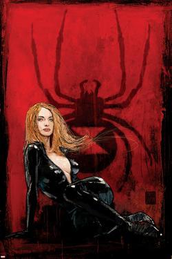 Daredevil No.63 Cover: Black Widow by Alex Maleev
