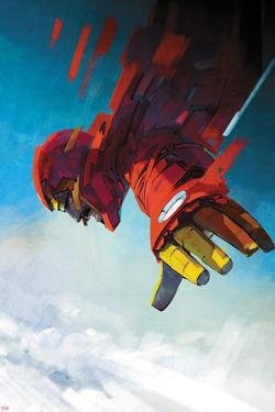 International Iron Man #7 Cover Art Featuring Iron Man, Tony Stark by Alex Maleev