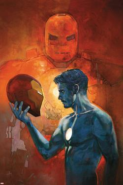 International Iron Man No. 3 Cover Art Featuring: Iron Man, Tony Stark by Alex Maleev