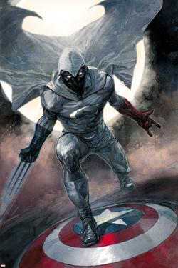 Moon Knight No.1 Cover: Moon Knight by Alex Maleev