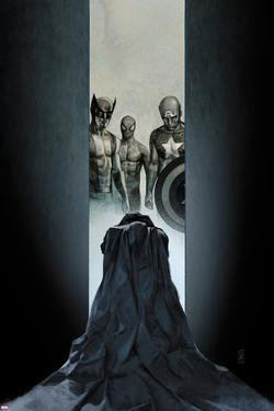 Moon Knight No.11 Cover: Wolverine, Spider-Man, and Captain America by Alex Maleev