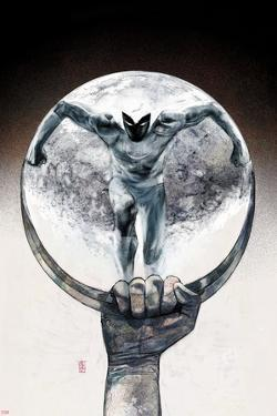 Moon Knight No.12 Cover: Moon Knight by Alex Maleev