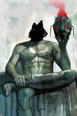Moon Knight No.2 Cover: Moon Knight Sitting by Alex Maleev