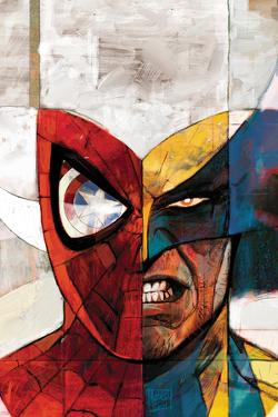 Moon Knight No.5 Cover: Spider-Man and Wolverine by Alex Maleev