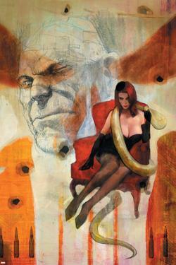 Punisher War Journal No.16 Cover: Princess Python by Alex Maleev