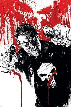 Punisher War Journal No.17 Cover: Punisher by Alex Maleev