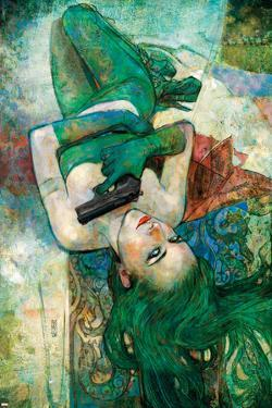 Spider-Woman #4 Cover: Madame Hydra by Alex Maleev