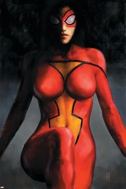 Spider-Woman No.1 Cover: Spider Woman by Alex Maleev