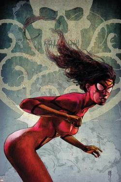 Spider-Woman No.2 Cover: Spider Woman by Alex Maleev