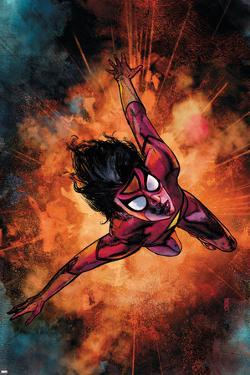 Spider-Woman No.3 Cover: Spider Woman by Alex Maleev