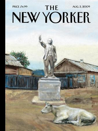 The New Yorker Cover - August 3, 2009