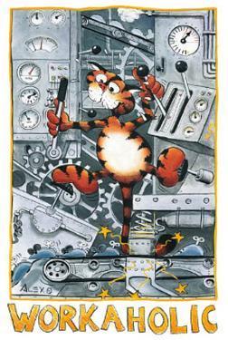 Alex Rinesch (Workaholic, Sugar) Art Poster Print