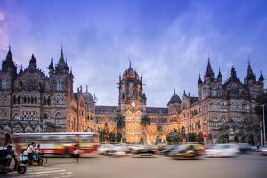 Chhatrapati Shivaji Terminus (Victoria Terminus), UNESCO World Heritage Site by Alex Robinson