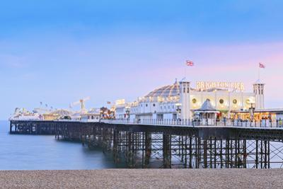 Europe, United Kingdom, England, East Sussex, Brighton and Hove, Brighton, Palace (Brighton) Pier by Alex Robinson