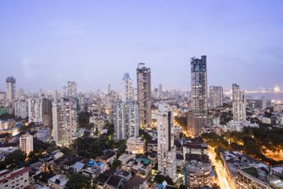 General View of the Skyline of Central Mumbai (Bombay), Maharashtra, India, Asia by Alex Robinson