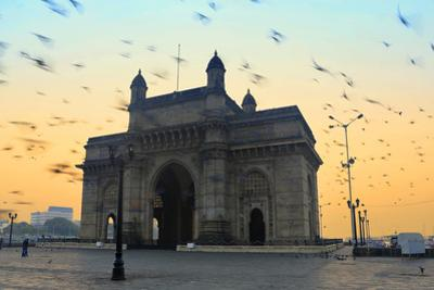 India, Maharashtra, Mumbai, Gateway of India, the Gateway of India at Dawn by Alex Robinson
