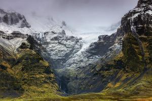 Mountains below the Vatnajokull glacier near Hofn, Iceland, Polar Regions by Alex Robinson