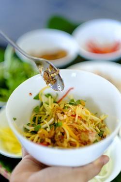 Spicy salad, Vietnamese food, Vietnam, Indochina, Southeast Asia, Asia by Alex Robinson
