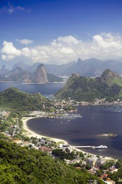 View of Rio, the Serra Da Carioca Mountains and Sugar Loaf by Alex Robinson