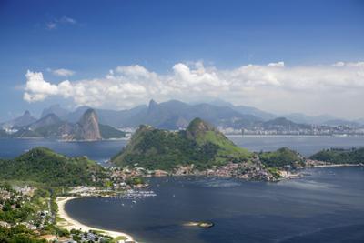 View of Rio, the Serra Da Carioca Mountains and Sugar Loaf by Alex Robinson