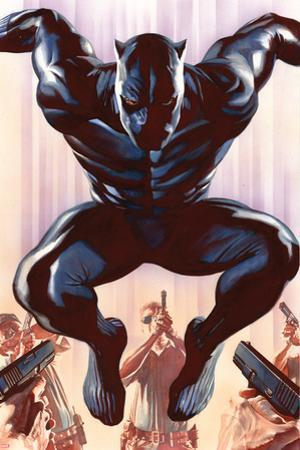 Black Panther No. 1 Cover Art by Alex Ross